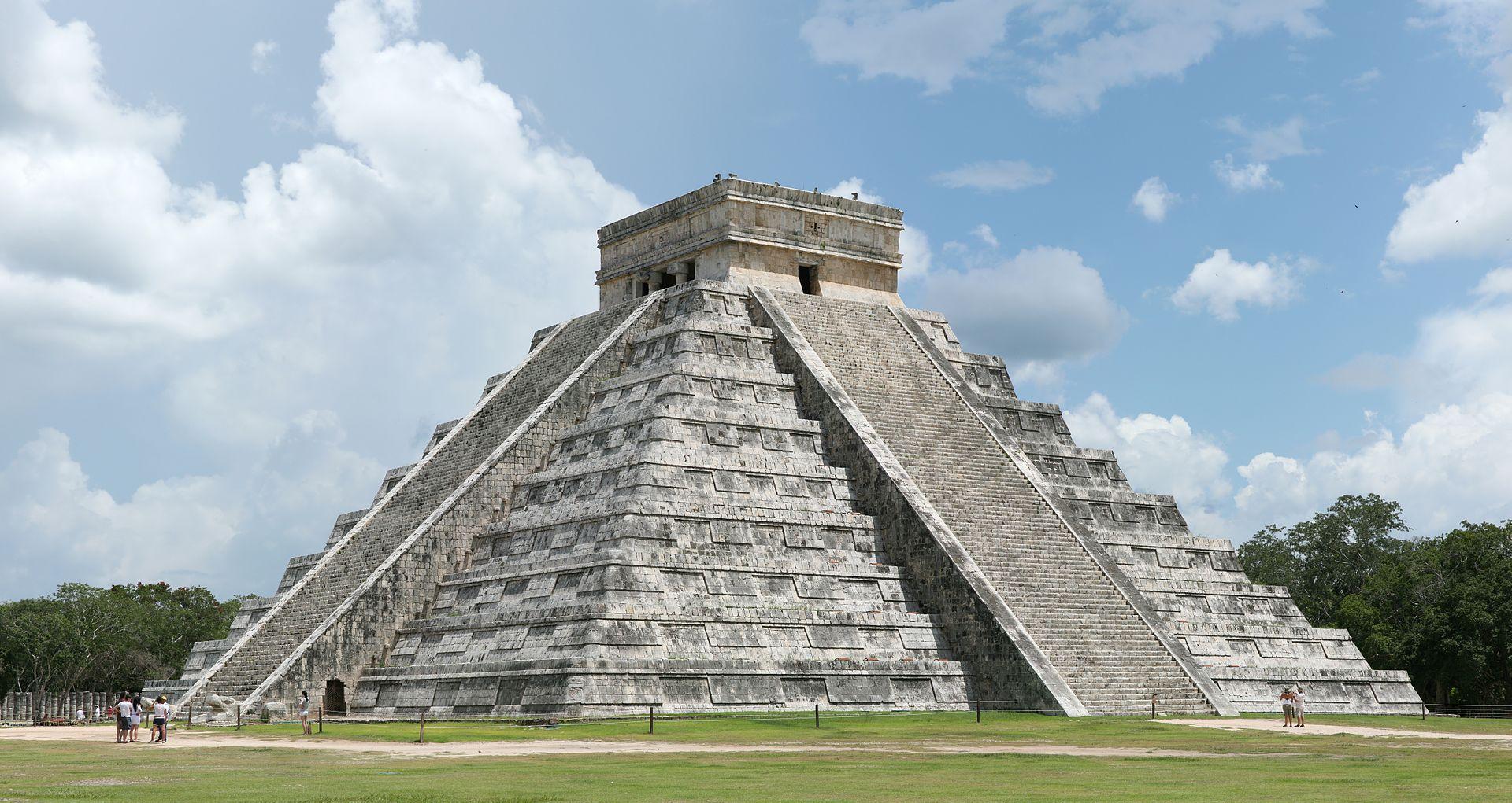Chichen Itza är ett av världens sju nya underver